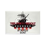 Tea Party Revolt 2010 Rectangle Magnet (100 pack)