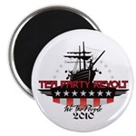 "Tea Party Revolt 2010 2.25"" Magnet (100 pack)"