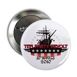 "Tea Party Revolt 2010 2.25"" Button"