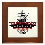 Tea Party Revolt 2010 Framed Tile