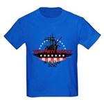 Tea Party Revolt 2010 Kids Dark T-Shirt