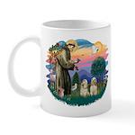 St Francis #2/ Cockers(2 buff) Mug