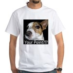 JRT Your Point? White T-Shirt
