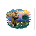 St Francis #2/ C Crested #1 Postcards (Package of