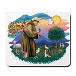 St Francis #2/ C Crested #1 Mousepad