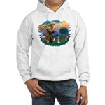 St Francis #2/ C Crested #1 Hooded Sweatshirt