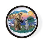 St Francis #2/ S Deer. #2 Wall Clock