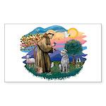 St Francis #2/ S Deer. #2 Sticker (Rectangle 10 pk