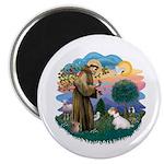 St Francis #2/ Sealyham T Magnet