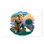 St Francis #2/ Sealyham T Postcards (Package of 8)