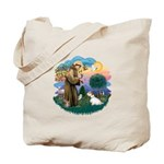 St Francis #2/ Sealyham T Tote Bag