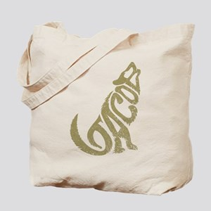 Jacob Wolf Lettering Tote Bag