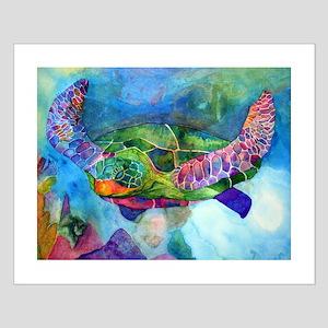 Sea Turtle Small Poster