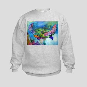 Sea Turtle Kids Sweatshirt