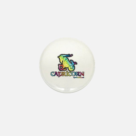 Zodiac Sign Capricorn Mini Button