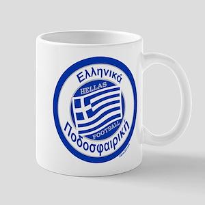 Greece Hellas Soccer/Football Mug