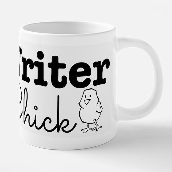 Writer Chick  20 oz Ceramic Mega Mug
