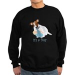 Jack Russell, It's A Boy Gifts Sweatshirt (dark)