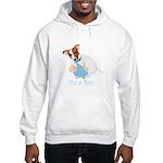 Jack Russell, It's A Boy Gifts Hooded Sweatshirt