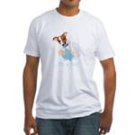 Jack Russell, It's A Boy Gifts Fitted T-Shirt