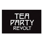 Tea Party Revolt 2010 Sticker (Rectangle 50 pk)