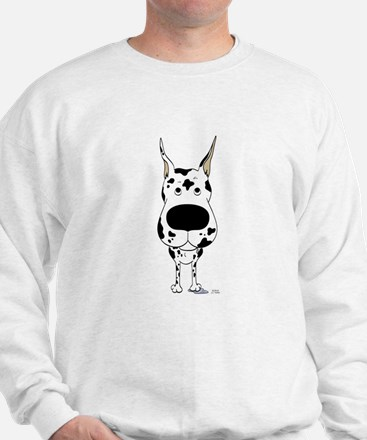 Big Nose Great Dane Sweatshirt