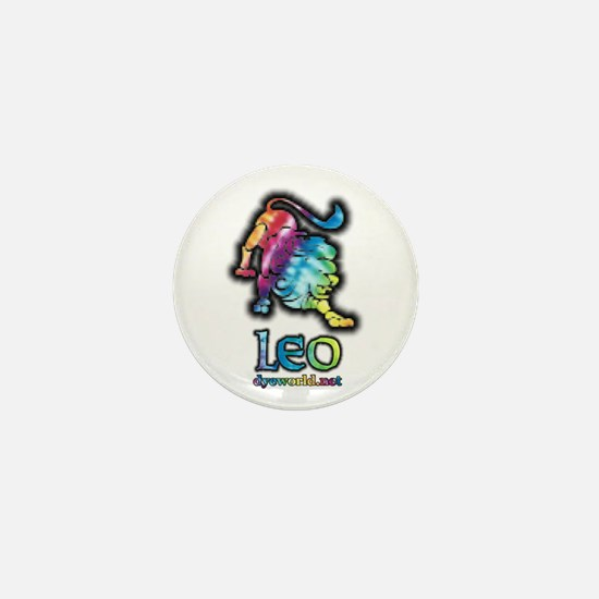 Zodiac Sign Leo Mini Button