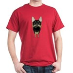 Big Nose German Shepherd Dark T-Shirt