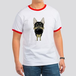 Big Nose German Shepherd Ringer T