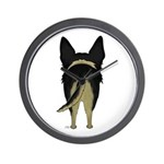 Big Butt German Shepherd Wall Clock