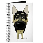 Big Nose German Shepherd Journal