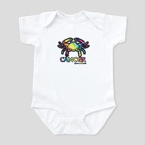 Zodiac Sign Cancer Infant Bodysuit