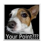 JRT Your Point? Tile Coaster