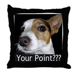 JRT Your Point? Throw Pillow