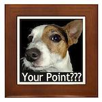 JRT Your Point? Framed Tile