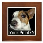 JRT Your Point? Framed Tile