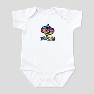 Zodiac Sign Pisces Infant Bodysuit