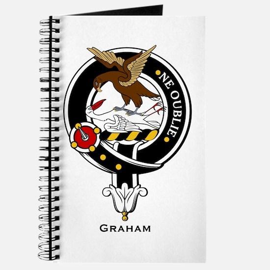 Graham Clan Crest Badge Journal