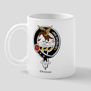 Graham Clan Crest Badge Mug