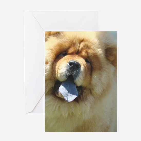 Chow Greeting Card