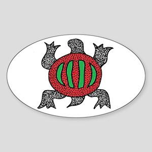 Denkyem Sticker (Oval)