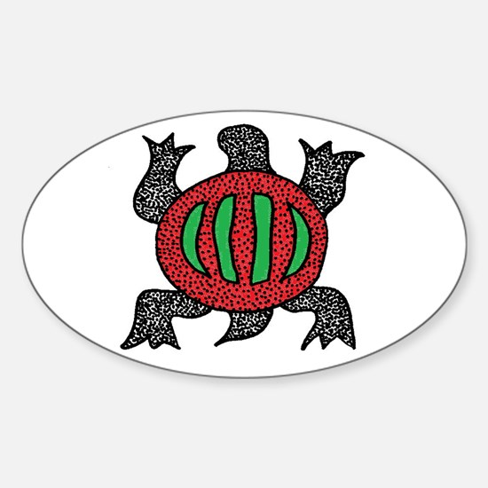 Denkyem Sticker (Oval)