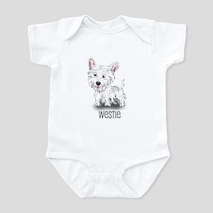Westhighland White Terrier Infant Creeper