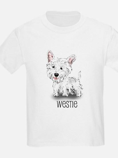 Westhighland White Terrier Kids T-Shirt