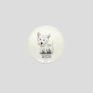 Westhighland White Terrier Mini Button
