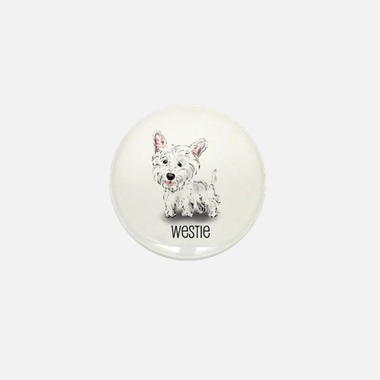 Westhighland White Terrier Mini Button