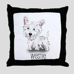 Westhighland White Terrier Throw Pillow