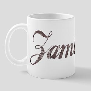 Vintage Zambia Mug
