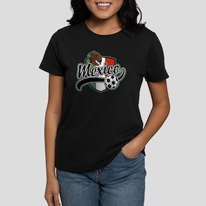 Mexico Soccer Women's Dark T-Shirt