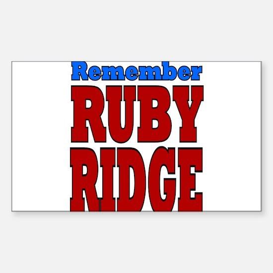I Remember Sticker (Rectangle)